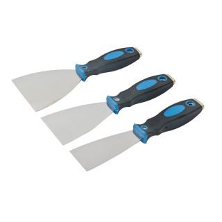 Jeu de 3 couteaux à enduire - 50, 75 et 100 mm 3 pcs