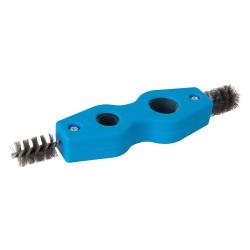Brosse à ébavurer et nettoyer les tuyaux - 15 et 22 mm