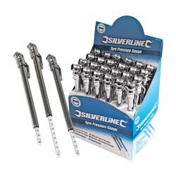 Présentoir de 24 manomètres pour pneus - 0 - 7 bar