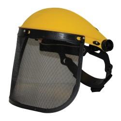 Visière de protection grillagée - Grillagée