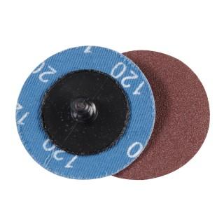 Kit 5 disques abrasifs à changement rapide 50 mm - Grain 120