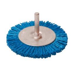 Brosse circulaire nylon - 75 mm fin