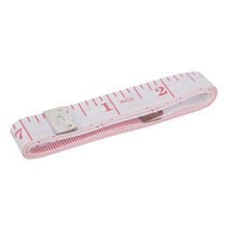 Mètre ruban de couturière en fibres de verre - 1,5 m