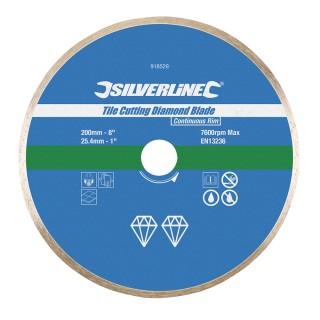 Disque diamanté à bordure continue pour carreaux - 200 x 25.4 mm