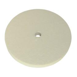 Disque de polissage en feutre - 150 mm
