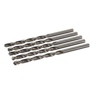 Jeu de 5 mèches longues en acier rapide HSS - 8,0 x 165 mm