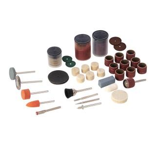 Ensemble de 105 accessoires pour outil rotatif - Tige 3,17 mm