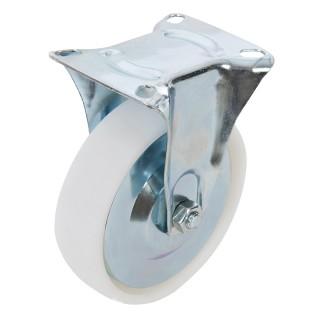 Roulette fixe polypropylène - 125 mm 160 kg