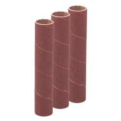 Ensemble de 3 manchons de ponçage de 114 mm - 19 mm grain 60