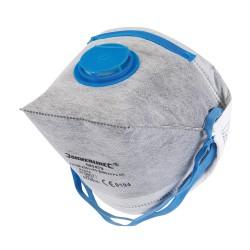 Masque respiratoire pliable à valve FFP2 NR - FFP2 NR, une unité