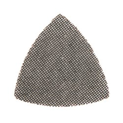Lot de 10 triangles abrasifs treillis auto-agrippants 105 mm