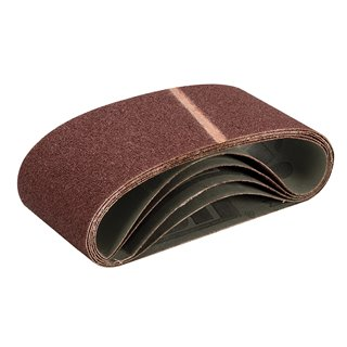 Bandes abrasives 100 x 560 mm 5 pcs - Grain 40