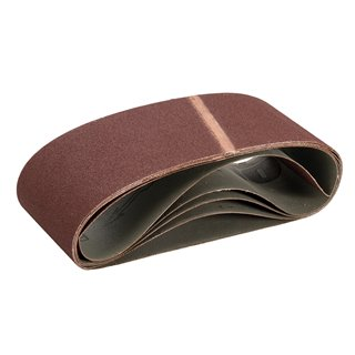 Bandes abrasives 100 x 610 mm 5 pcs - Grain 100