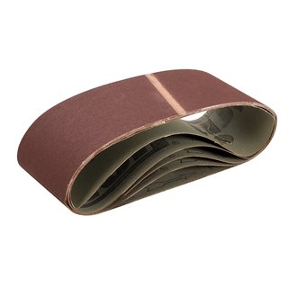 Bandes abrasives 100 x 610 mm 5 pcs - Grain 150