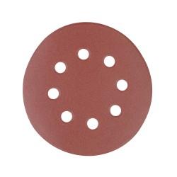 10 disques abrasifs perforés auto-agrippants 125 mm - Grain 240