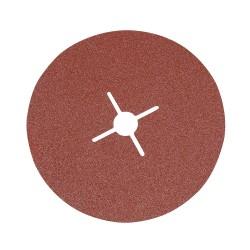 10 disques en fibre 180 x 22,23 mm - Grain 60