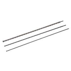 Jeu de 3 mèches à maçonnerie SDS-Plus - 1000 mm