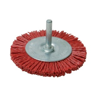 Brosse circulaire nylon - 75 mm grossier