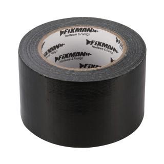 Adhésif toilé robuste - 72 mm x 50 m Noir