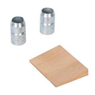 Lot de 3 coins pour marteau - 4,54 - 6,35 kg