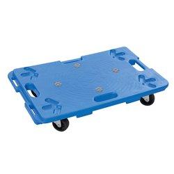 Chariot plateforme en plastique emboîtable - 100 Kg