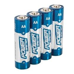 Lot de 4 Piles alcalines Super LR6 type AA - Lot de 4