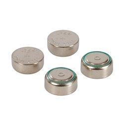 Lot de 4 piles bouton alcalines LR44 - Lot de 4