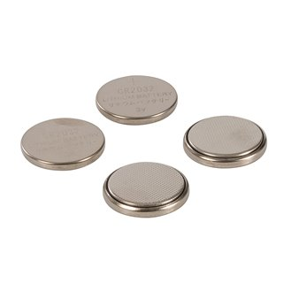 Lot de 4 piles bouton lithium CR2032 - Lot de 4