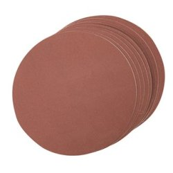 Lot de 10 disques abrasif autocollants 150 mm - Grain 240