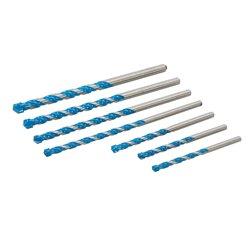 Lot de 7 forets multi-matériaux - 7 pcs
