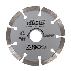 Lame de scie diamant - GTS1500 - 110 x 22,23 x 2 mm, 9 dents