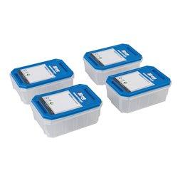 Lot de 4 boîtes à quincaillerie - KSS-S Petit modèle