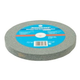Meule en oxyde d'aluminium pour touret à meuler - 200 x 20 mm - Grain fin