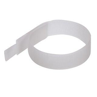 10 serre-câbles auto-agrippants - 150 mm - Blanc