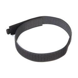 10 serre-câbles auto-agrippants - 450 mm - Noir