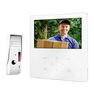 Sonnette avec Visiophone Filaire Smartwares VD71SW