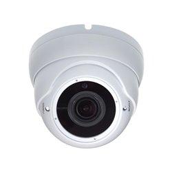 Caméra Multi Protocoles - Hd-Tvi / Cvi / Ahd / Analogique - Extérieur - Dôme - Zoom Varifocal - 1080P - Blanc