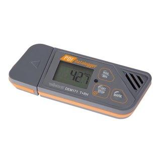 Enregistreur De Données Thermiques Et De Taux D'Humidité Avec Port Usb (Plug & Play)
