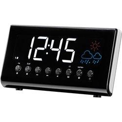 Cr-718 - Radio-Réveil Avec Radio Fm Et Indication Météo