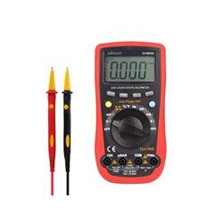 Multimètre Numérique - Cat Iii 600V / Cat Iv 300V - 15A - 6000 Points - True Rms