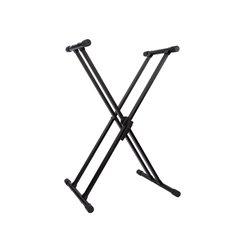 """Double Support D'Instrument De Musique En """"X"""""""