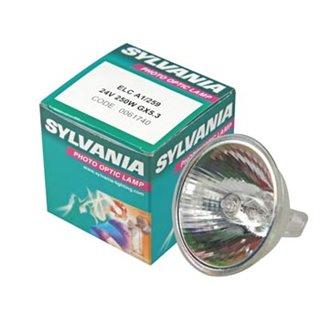 Ampoule Halogène Sylvania 250W / 24V, Elc Long Life, Gx5.3, 3400K, 500H