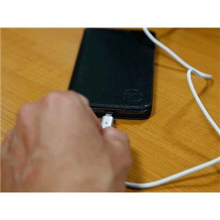 Câble De Charge Et Synchronisation - Usb 2.0 Mâle Vers Micro Usb 5 Broches - Magnétique - 1 M