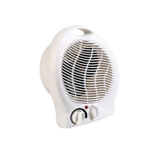 Thermoventilateur - 2000 W - Blanc