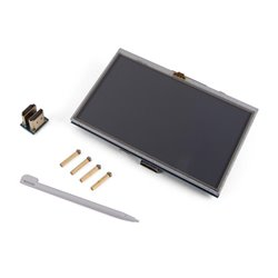 """Écran Tactile Hdmi-B Pour Raspberry Pi® - 5"""" - 800 X 480"""