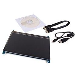 """Écran Tactile Hdmi-B Pour Raspberry Pi® - 7"""" - 800 X 480"""