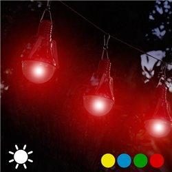 Ampoule Solaire (paquet de 4)-Couleur-Vert
