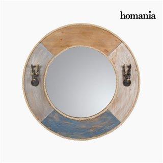 Miroir rond en métal by Homania