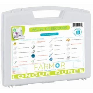 Valise de secours « LONGUE DURÉE » 5 personnes