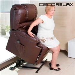 Fauteuil de relaxation massant releveur Cecorelax 6014